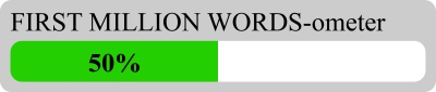 First million words ometer 50