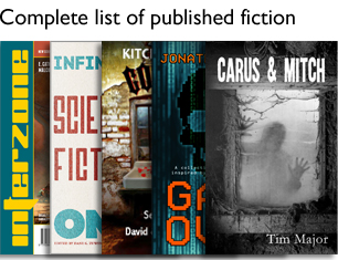 Complete list of published fiction