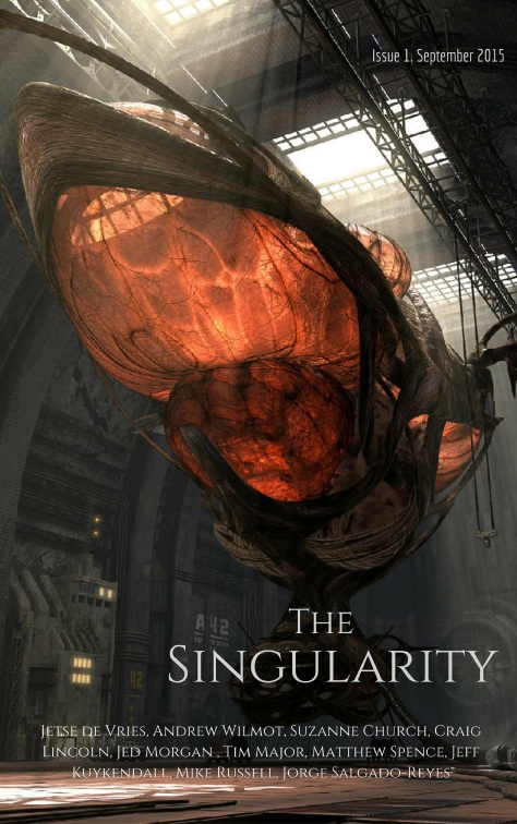 The Singularity Issue 1 Cover
