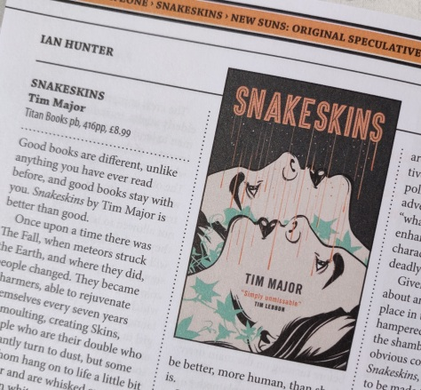 Snakeskins Interzone review May19