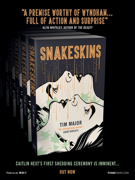 Snakeskins Titan newsletter banner