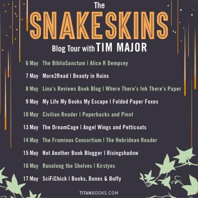 Snakeskins blog tour