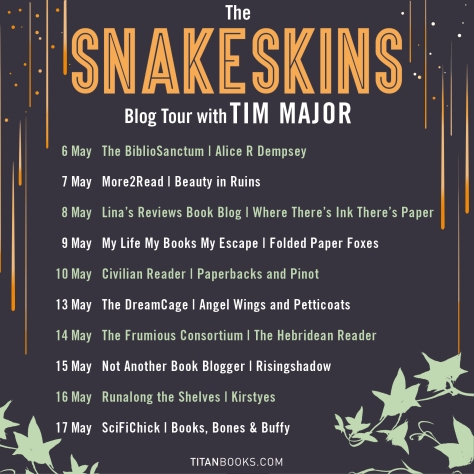 Snakeskins blog tour