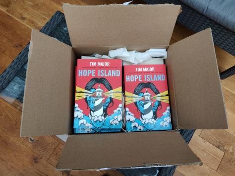 Hope Island author copies