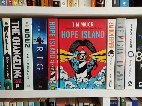 Hope Island on shelf
